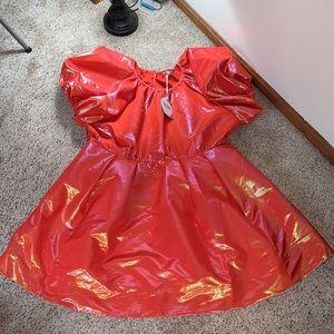 NWT Christopher John Rogers x Target Orange Dress